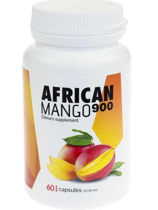 African Mango 900 -na otyłość ✅ #Zamów online