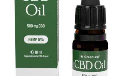 GreenLeaf CBD Oil -olejek z konopi ✅ #Zamów online