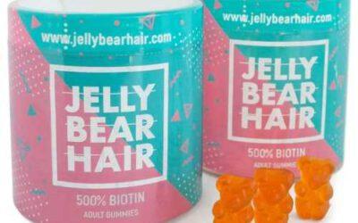 Jelly Bear Hair -witaminy na włosy ✅ #Zamów online