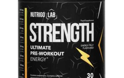 Nutrigo Lab Strength -udany trening ✅ #Zamów online