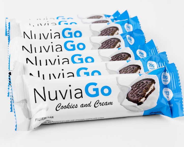 NuviaGo -batony proteinowe ✅ #Zamów online