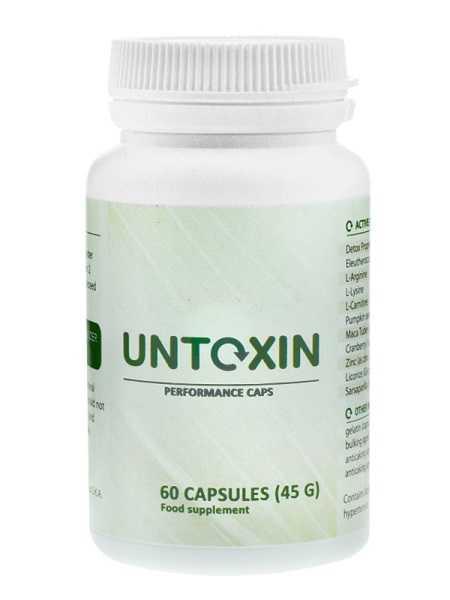 Untoxin -detoksykacja organizmu ᐅ #Zamów online#